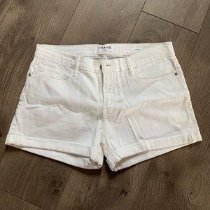 FRAME LeCutoff Denim Shorts (NWOT)